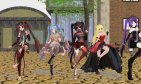 MMD GOTHIC 5 GIRLS DOWN WITH THE SICKNESS [R-15]